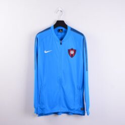 Jaket Bola Nike Cerro Porteno FC Dry Squad Drill Jacket Biru