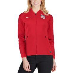 Jaket Bola Nike Womens 2018 USA Anthem Jacket 893925 659 4 result