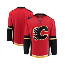 Jersey Hockey NHL Fanatics Branded Mens Calgary Flames Breakaway Jersey result