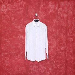 Koleksi Kemeja Calvin Klein Regular Fit Motif Kotak Putih Titik result