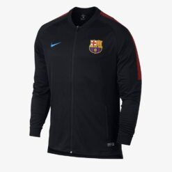 Jaket Bola FC Barcelona Dry Squad Drill by Nike Hitam 854341 011 A opt