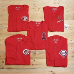 Jersey Baseball Majestic MLB TX3 Cool Team Jersey Merah result