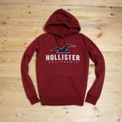 Reject Minor Hoodie Hollister Big Logo Pullover Hoodie Marun result