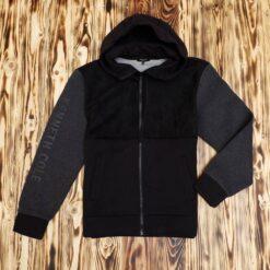 Jaket Kenneth Cole Colorblock Printed Sleeve Zip Hoodie