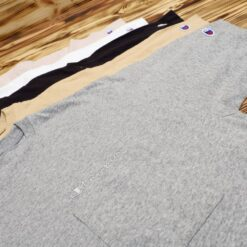 Kaos Champion Mens Pocket Script T Shirt C8 M346R
