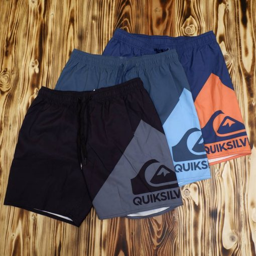 Celana Pantai Quiksilver Block Wave Swim Trunk