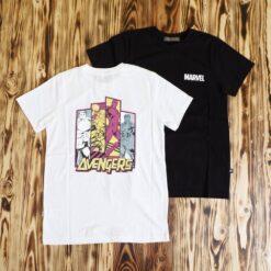 Kaos FRJ Jeans X Marvel Avengers Back Print T Shirt
