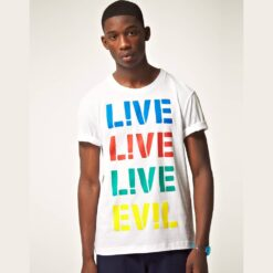 Kaos Lacoset LVE EVL Slim Fit T Shirt