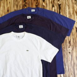 Kaos Lacoste Basic Pique Cotton T Shirt