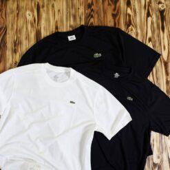 Kaos Lacoste Sport Classic Plain Jersey T Shirt