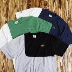 Kaos Lacoste Sport Half Block Pique T Shirt Original