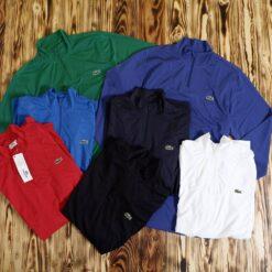 Kaos Running Lacoste Sport Quarter Zip T Shirt