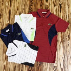 Polo Lacoste Andy Roddick 14 Zip Polo Shirt