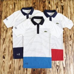 Polo Lacoste Andy Roddick Engineered Stripe Superdry Polo Shirt
