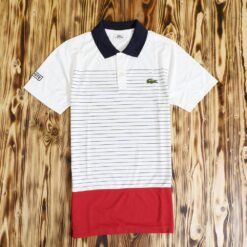 Polo Lacoste Sport Engineered Stripe Polo Shirt