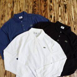 Polo Lacoste Sport Pique Cotton Long Sleeve Polo Shirt