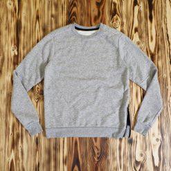 Sweater Old Navy Crew Neck Zipper Fleece Sweatshirt