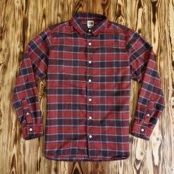 Flannel The North Face Check LS Shirt Merah