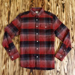 Flannel The North Face Multiplaid LS Shirt Merah