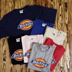 Kaos Dickies Graphic Logo White Label T Shirt