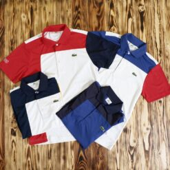 Polo Lacoste Sport Colorblock Tipped Shoulder Polo Shirt