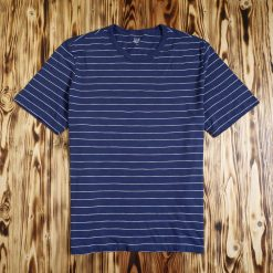 Kaos GAP Mens Essential Stripe T Shirt Biru