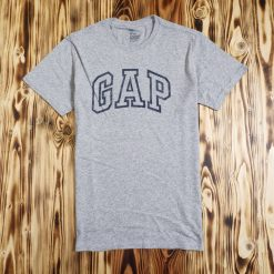Kaos GAP Mens Graphic Logo T Shirt Abu