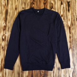 Sweater Daiz Pocket Sweatshirt Navy