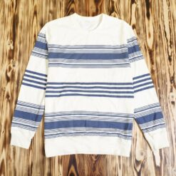 Sweater Daiz Stripe Sweatshirt Cream