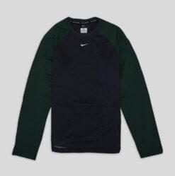 Sweater Nike Shield Therma Fit Baseball Sweatshirt Hijau res