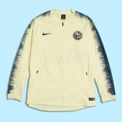 Jaket Bola Nike Club America Anthem Jacket Kuning res