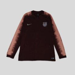 Jaket Bola Nike FC Barcelona Anthem Jacket Marun res