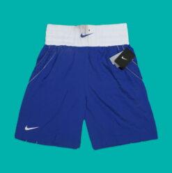 REJECT KOTOR Celana Nike Mens Boxing Short Original Biru res