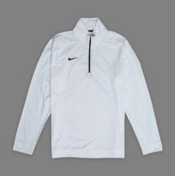 Sweater Nike Dri Fit Half Zip Pullover Putih res