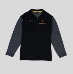 Sweater Nike Mens NCAA Coach Sideline Half Zip USC res