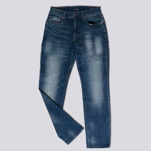 Jeans Lucky Brand 121 Slim Straight Coolmax All Season Trashed1 res