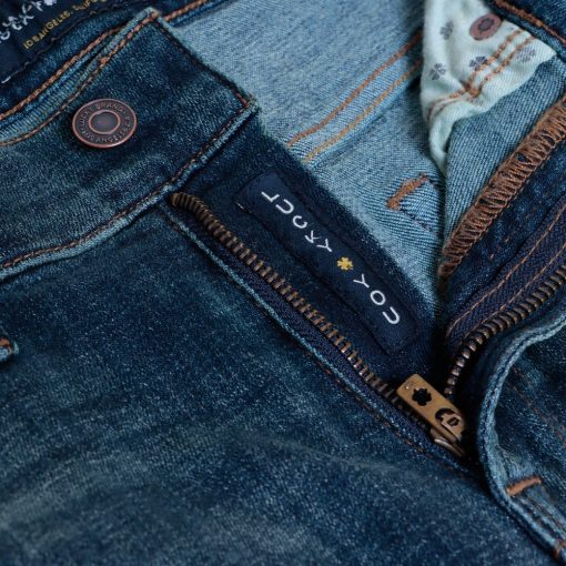 Jeans Lucky Brand 121 Slim Straight Coolmax All Season Trashed4 res