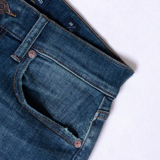 Jeans Lucky Brand 121 Slim Straight Coolmax All Season Trashed5 res