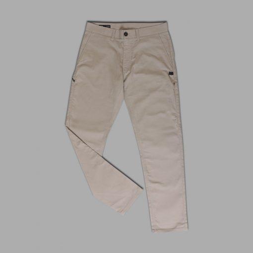Celana Panjang O Mens Icon Chino Pants Beige res
