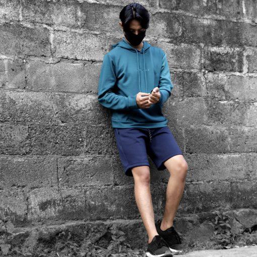 Celana OKLY Mens Tech Knit Short1 res